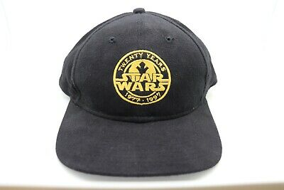 Star Wars Twenty Years 1977-1997 Baseball Cap American Mills Brand New with Tags