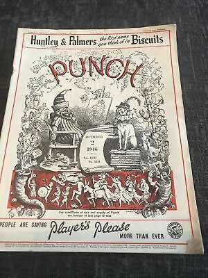 Punch Magazine In Good Condition October 2 1946
