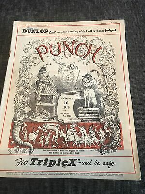 Punch Magazine In Good Condition October 16 1946