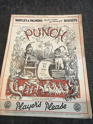 Punch Magazine In Good Condition May 15 1946