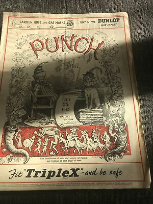 Punch Magazine In Good Condition July 25 1945