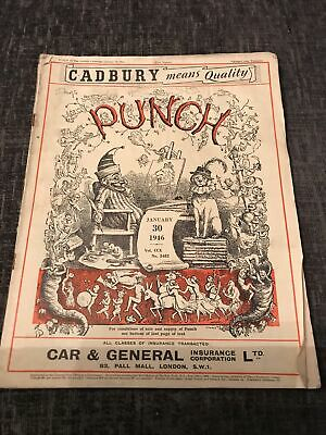 Punch Magazine In Good Condition January 30 1946