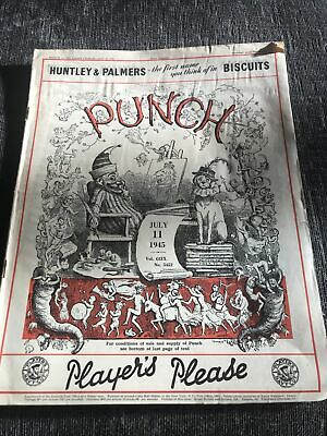 Punch Magazine In Good Condition July 11 1945