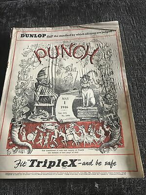 Punch Magazine In Good Condition May 1 1946