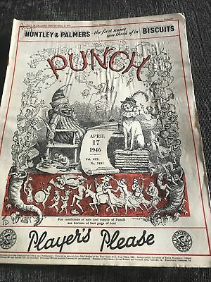 Punch Magazine In Good Condition April 17 1946