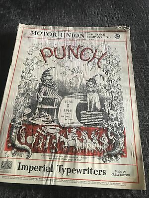 Punch Magazine In Good Condition June 5 1946
