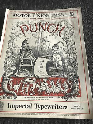 Punch Magazine In Good Condition May 8 1946