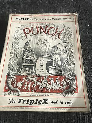 Punch Magazine In Good Condition July 24 1946