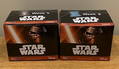STAR WARS ABATONS, 2 BOXES WEEK 4 & 5 (Item#1)