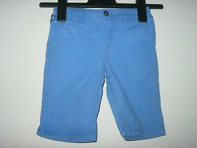 BOY'S NEXT  BLUE SHORTS. Adjustable Waist. Age 3 - 4 years. Height 104 cm.