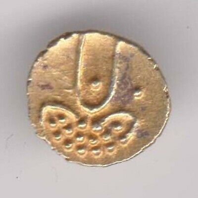 Ancient-South India-Vijaynagar-Gold Fanam-Small Beautiful Gold Coin
