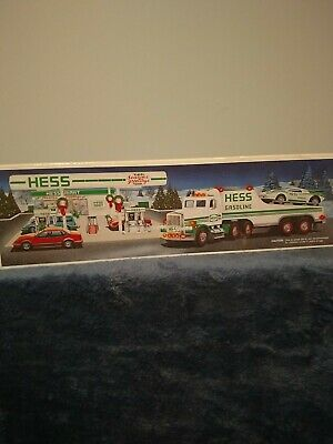 1991 Hess Toy Truck and Racer, New in Box
