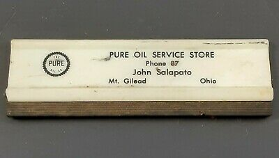 Plastic window squeegee Pure Oil Mt. Gilead OH dealer