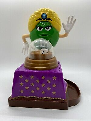 """Great M&M Collectible Dispenser """"Fortune Teller"""" 6""""W X 8 1/2""""T X 6""""Long"""