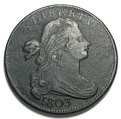 1803 Small Date and Fraction Draped Bust Large Cent!