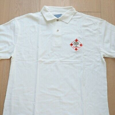 "Apple Employee Vintage ""Project Tangerine"" Embroidered Polo Shirt (never worn)"