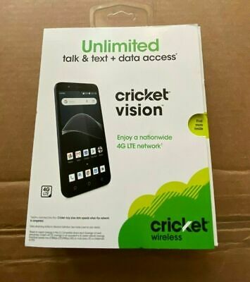 """NEW FACTORY SEALED Cricket Vision 5.5"""" Android Quad-Core 16GB"""