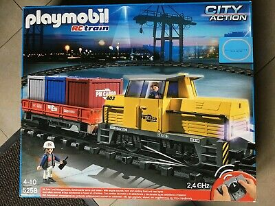 Playmobil trains w411 right rail for rc train express cargo boat