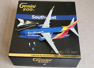 Gemini Jets 737-800 Southwest Airlines N8642E in 1:200