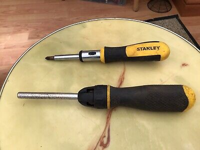 """10 x 2 3//8/"""" STANLEY  PHILLIPS CROSS POINT BLADE SCREWDRIVERS SMALL VINTAGE NOS"""