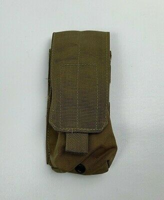 USMC MOLLE Double Magazine Pouch Style 4050 Coyote Brown Fair//Acceptable 4 QTY