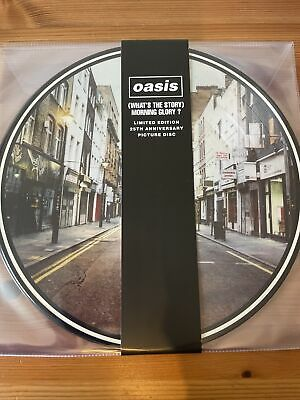 Oasis - Whats The Story Morning Glory Lp Picture Disc With Lyric Sheet