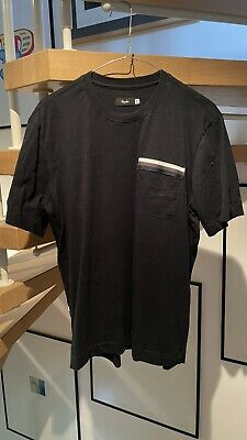Details about  /Rapha Men/'s Logo Pocket T-Shirt Dark Navy High-Vis Pink Small Brand New With Tag