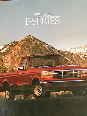Great Condition 1995 FORD F - SERIES BROCHURE 95