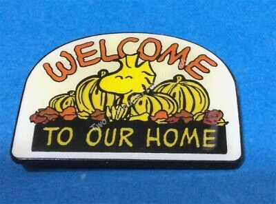 Peanuts Woodstock Welcome To Our Home Vintage Pin
