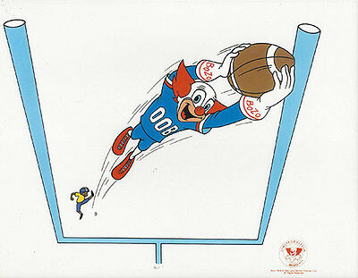 Bozo The Clown Playing Football ~ Larry Harmon Cel