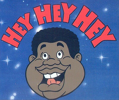 "Fat Albert And The Cosby Kids ""hey Hey Hey"" Bill Cosby Animation Cel"