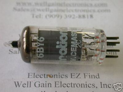 ICC   6BY6 VINTAGE ELECTRONIC TUBE NOS NIB  MADE IN USA