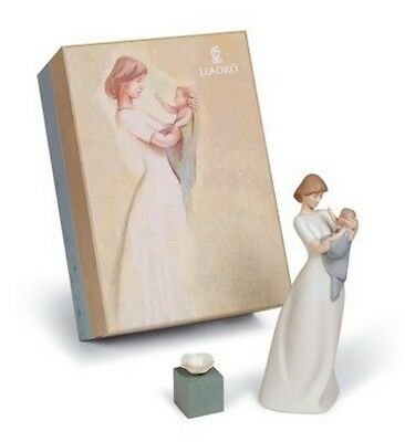 """Lladro Made In Spain """"a Mother's Treasure"""" Gift Set 17821  Mint & Reduced"""