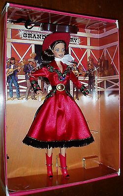 Country Rose Barbie Grand Ole' Opry Collection #17782 box with shelf wear