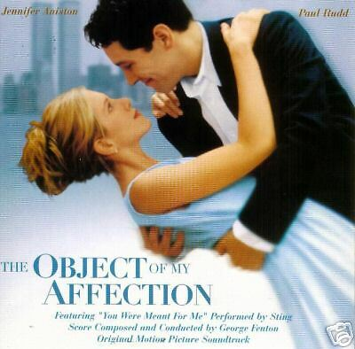 The Object Of My Affection-1998-Original Movie Soundtrack CD