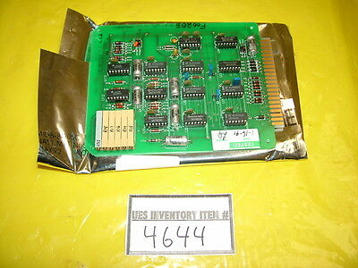 GaSonics 90-1002-02 Valve Control PCB Assembly Used Working