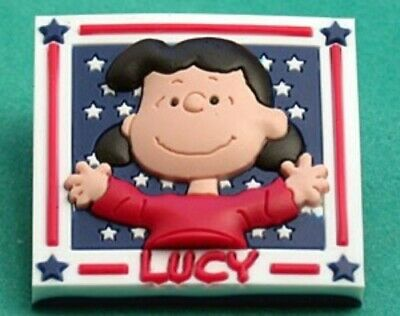 Peanuts Red White & Blue Lucy Pin