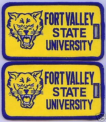 FORT VALLEY STATE UNIVERSITY Luggage ID Tags (Set of 2)