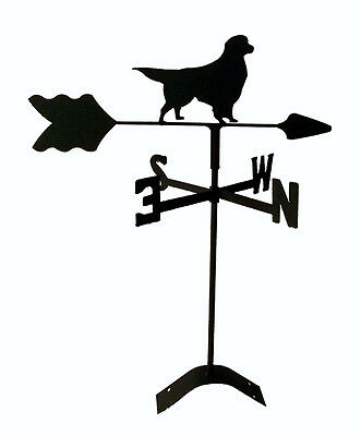 golden retriever roof weathervane black wrought iron look made in usa TLS1024RM