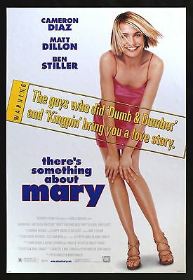 THERE'S SOMETHING ABOUT MARY * CineMasterpieces NM-MINT DS ORIGINAL MOVIE POSTER