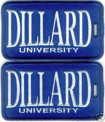 DILLARD UNIVERSITY - Luggage ID Tags (Set of 2)