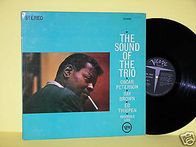 Oscar Peterson, Ray Brown and Ed Thigpen, Sound of the Trio Live, Verve, V6-8480