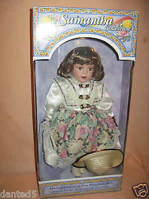 SAMANTHA COLLECTION  PORCELAIN DOLL BY SAMANTHA MEDICI