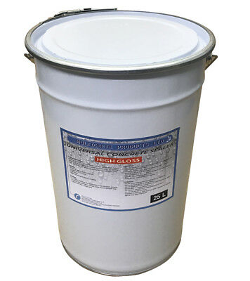 Universal Concrete Sealer 25 Litres High Gloss Finish Seal (Contains Anti-Slip)
