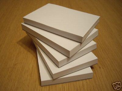 Plain White Paper Jotter/note Pad  A6 Size Box Of 50