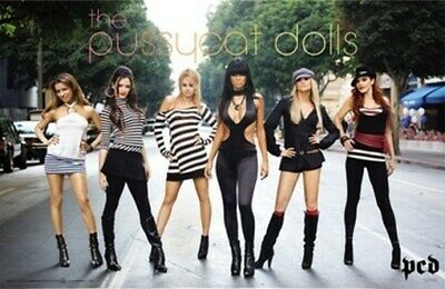 The Pussycat Dolls Poster - Hot Sexy Street Shot 24X36