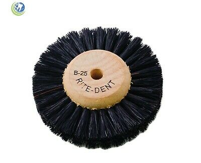 Dental Laboratory Lathe Polishing Brush B25 Wood Center 207-0025