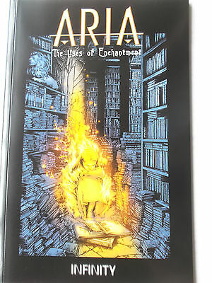 Aria - The uses of enchantment Paperback (Infinity) Neu