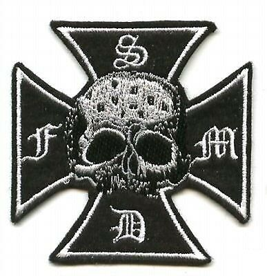 Black Label Society Fan Club Member Series: Bls Cross Black Label Society Patch