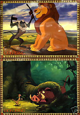 The Lion King Set Of 8 Lobby Cards